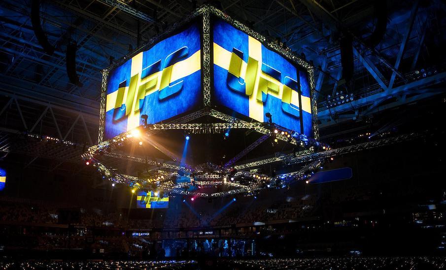 UFC oktagon i Sverige