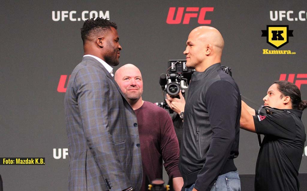 francis ngannou junior dos santos UFC on ESPN 3