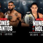 UFC 239 Matchkort