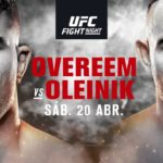 UFC Ryssland matchkort