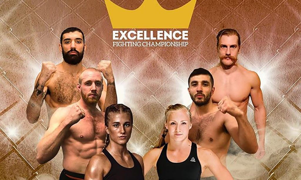 excellence fighting championship matchkort