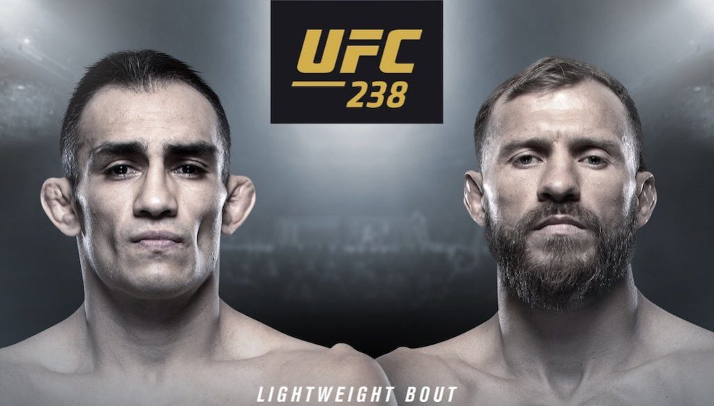 ufc 238 tony ferguson vs donald cerrone