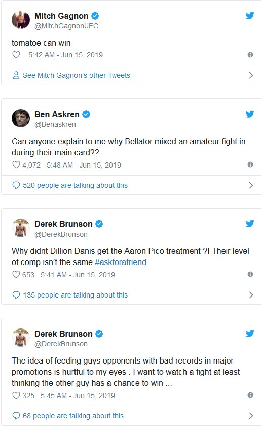 Dillon Danis tweets