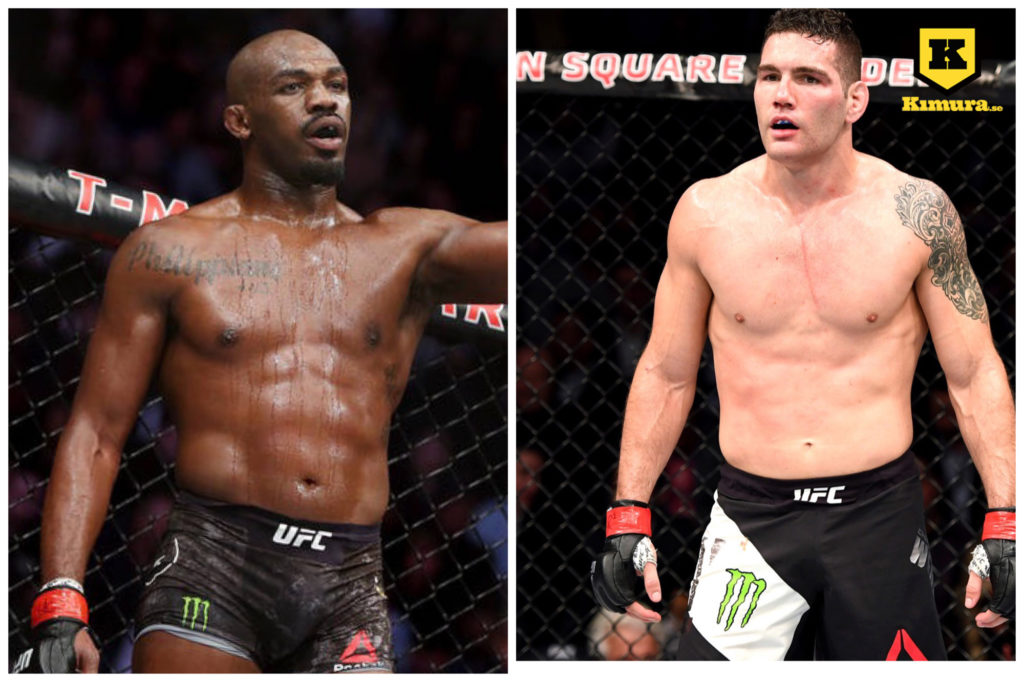 Jon Jones Chris Weidman UFC
