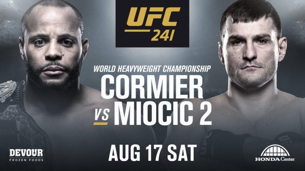 UFC 241 matchkort