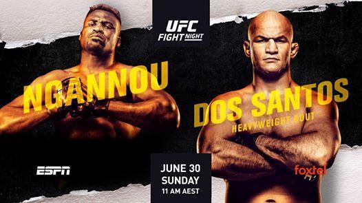 UFC ON ESPN 13 Matchkort