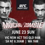 UFC on ESPN+ 12 Matchkort