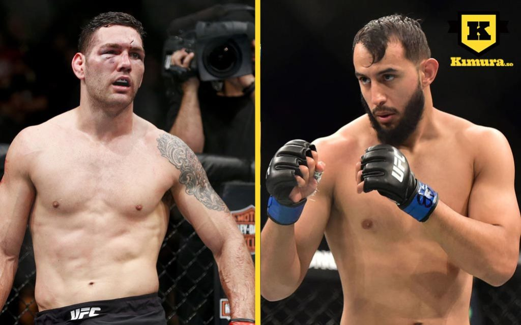 Chris Weidman vs Dominick Reyes
