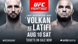 Ilir latifi vs Volkan Oezdemir UFC Uruguay