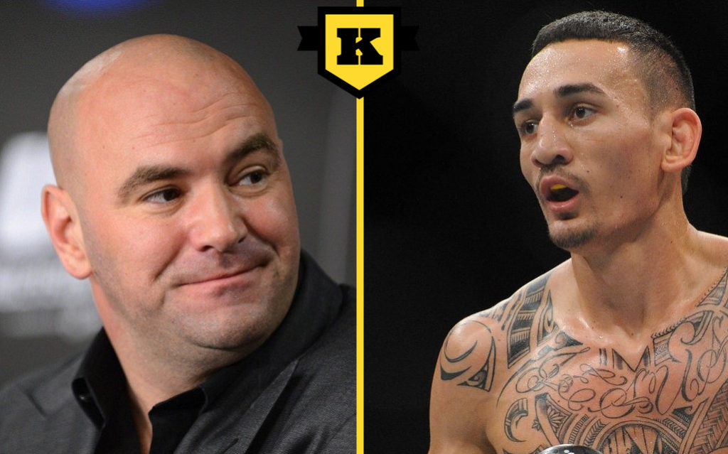 Max Holloway Dana White
