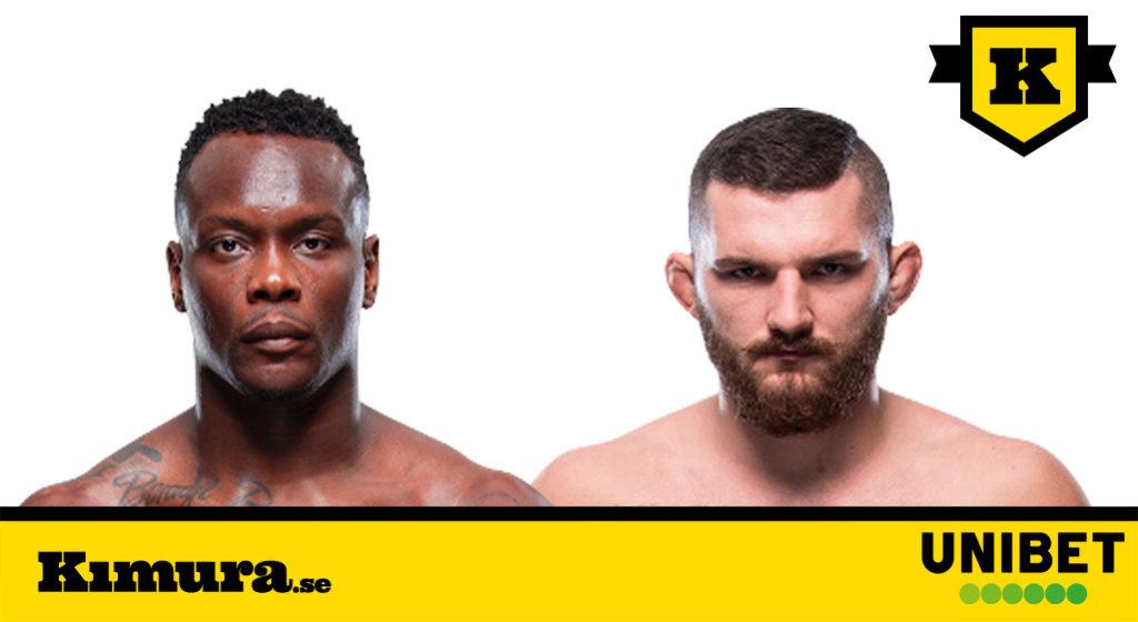 UFC Ovince Saint Preux vs Michal Oleksiejczuk
