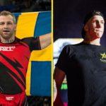 Andreas Gustafsson Berg möter Jonatan Westin på Fight Club Rush 8