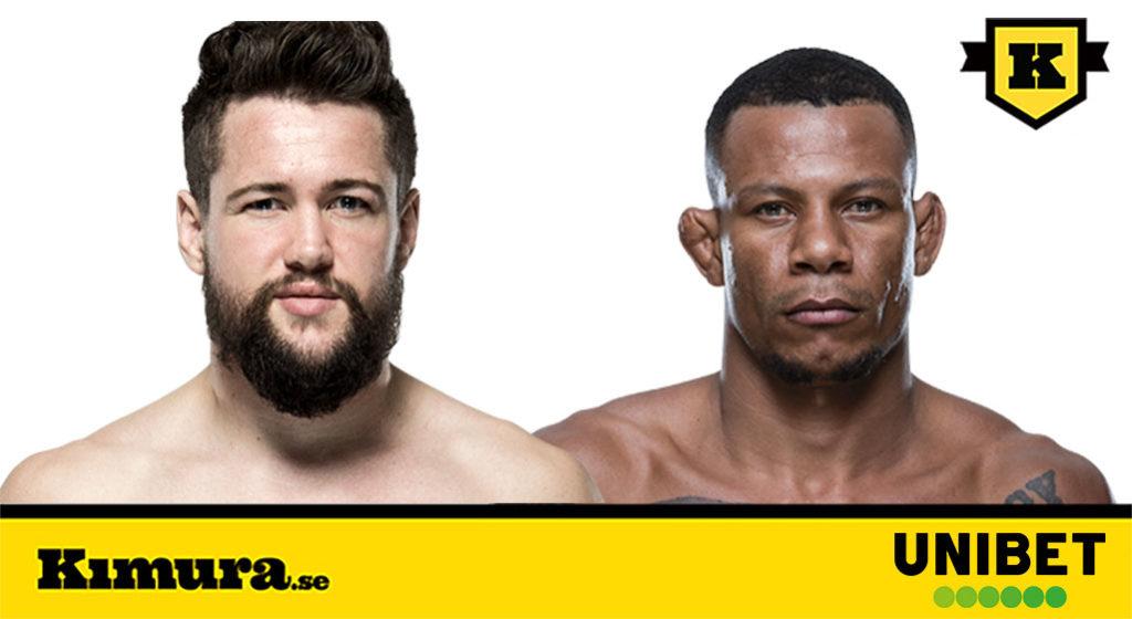 UFC Danmark Köpenhamn Nicolas Dalby vs Alex Oliveira