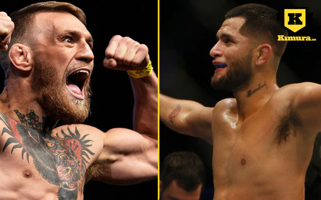 Jorge Masvidal vs Conor McGregor