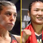 Joanna Jedrzejczyk vs Weili Zhang UFC