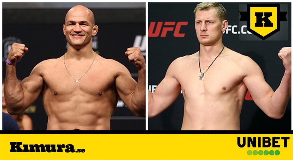 Junior dos Santos vs Alexander Volkov UFC Moskva