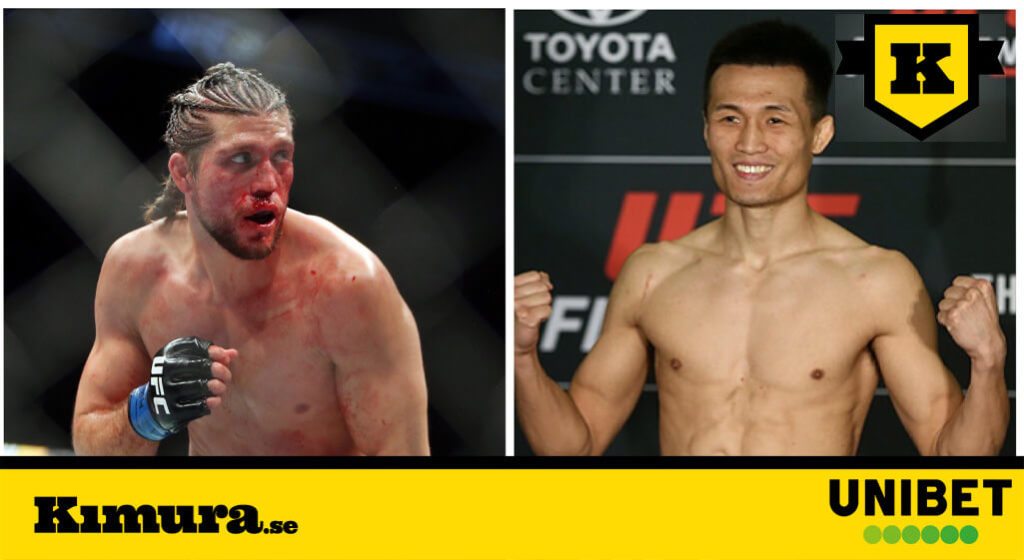 Korean Zombie vs Brian Ortega UFC