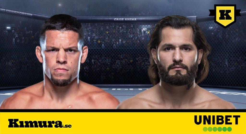 Nate Diaz vs Jorge Masvidal UFC 244