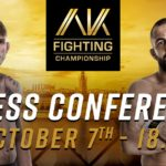 AK Fighting presskonferens med alexander gustafsson och Reza maddog