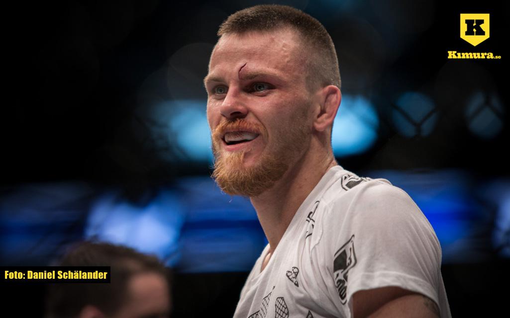 Niklas Bäckström i UFC mot Noad Lahat