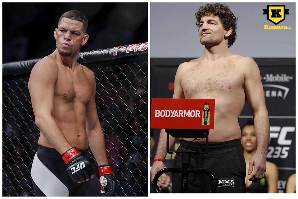 Ben Askren Nate Diaz UFC