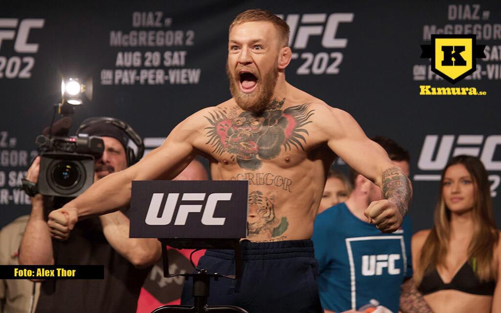 Conor McGregor UFC invägning