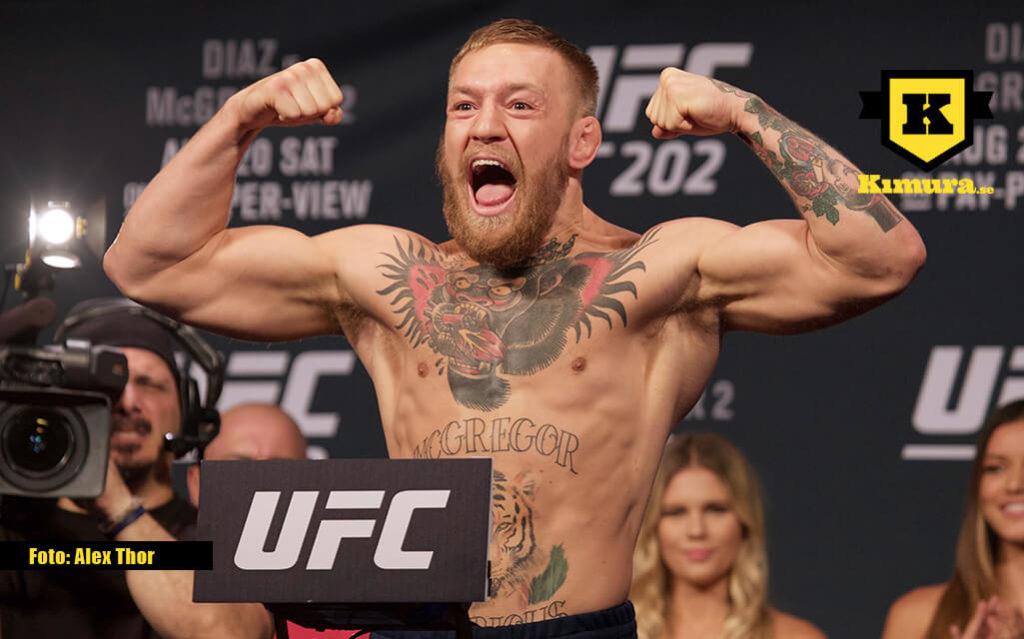 Conor McGregor invägning