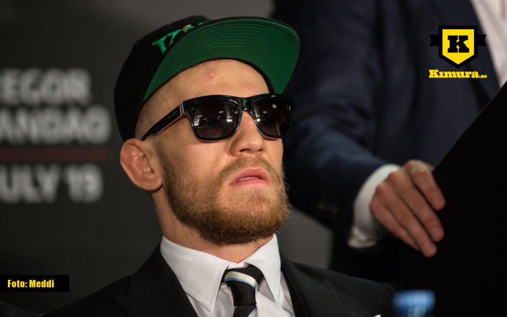 Conor McGregor presskonferens