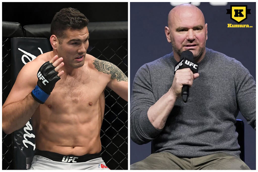 Dana White Chris Weidman