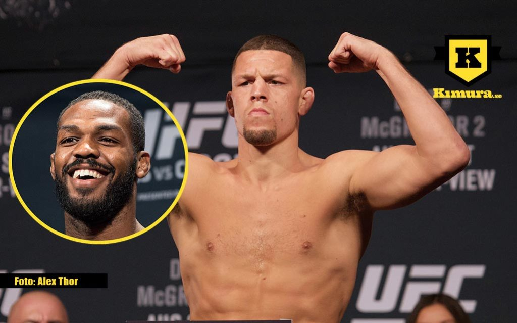 Jon Jones Nate Diaz