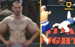 Synthol Popeye förlorar MMA