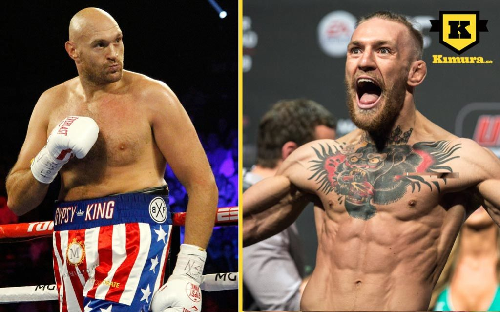 Tyson Fury MMA Conor McGregor