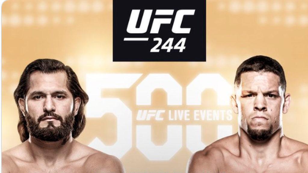 UFC 244 Nate Diaz vs Jorge Masvidal