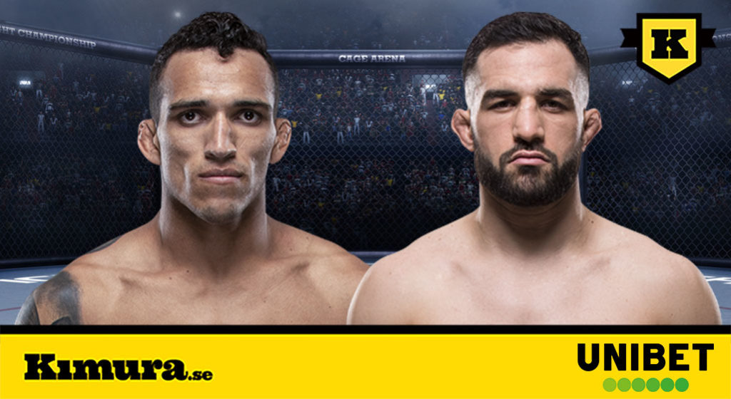 UFC Sao Paolo Charles Oliveira vs Jared Gordon