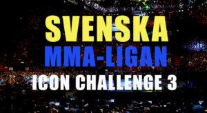Svenska MMA-Ligan 2019: Icon Challenge 3