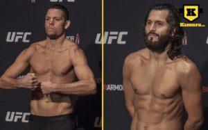Nate Diaz och Jorge Masvidal