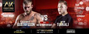 Alexander Gustafsson vs Anton Turkalj AKFC 3
