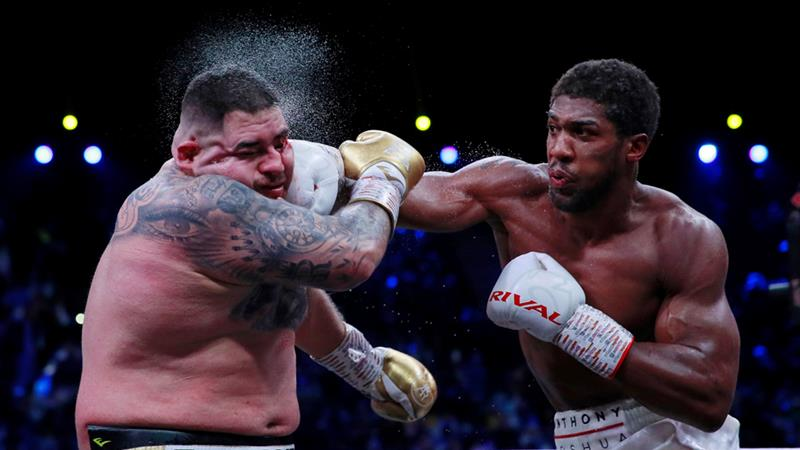Anthony Joshua Andy Ruiz jr