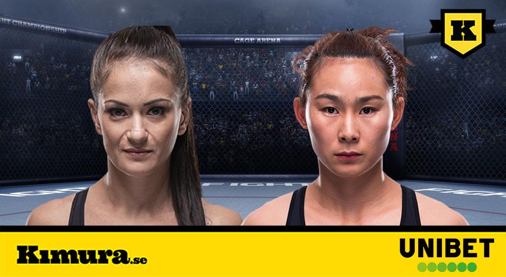 Karolina Kowalkiewicz vs Yan Xionan UFC Auckland