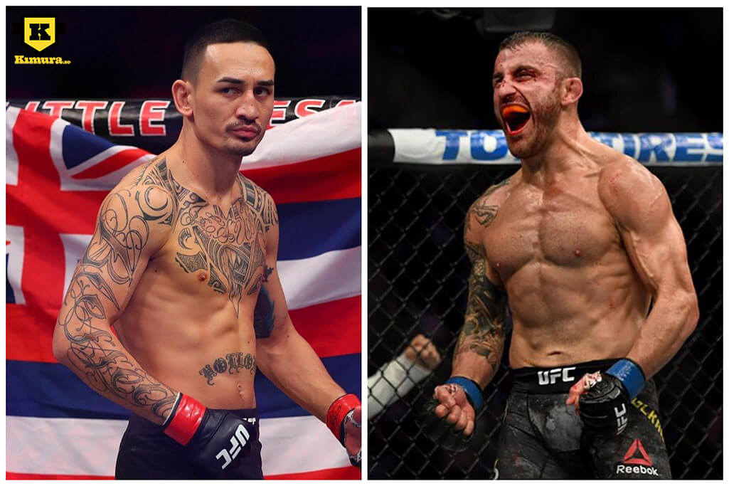 Max Holloway vs Alexander Volkanovski UFC