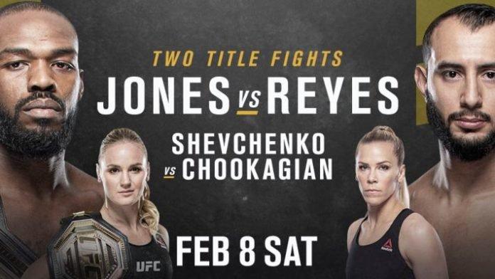 UFC 247 matchkort
