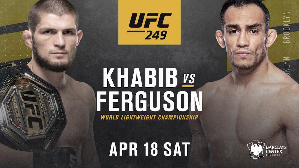 UFC 249 Khabib Nurmagomedov vs Tony Ferguson
