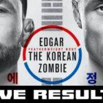 UFC Busan resultat