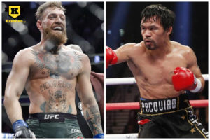 Conor McGregor Manny Pacquiao boxning