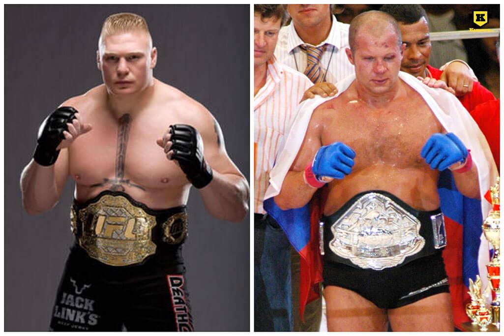 Fedor Emelianenko vs Brock Lesnar