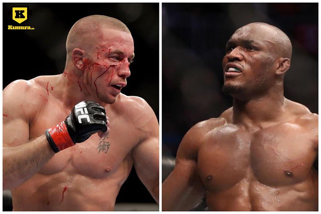 Kamaru Usman vs. Georges St-Pierre UFC