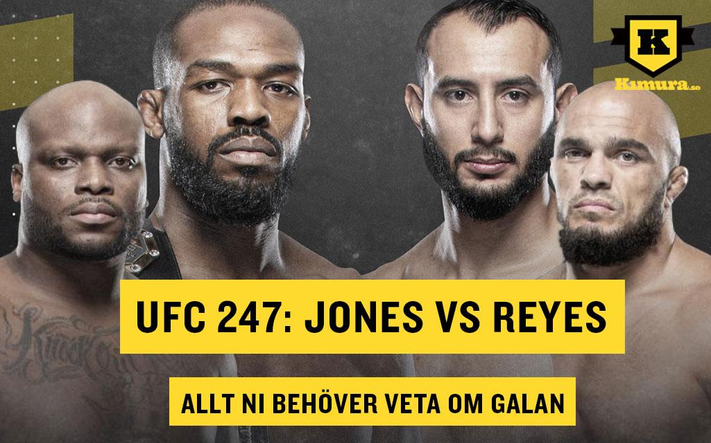 UFC 247 Jon Jones Ilir Latifi Derrick Lewis allt om galan