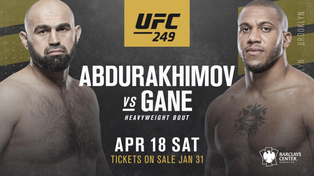 UFC 249 Cyril Gane vs Shamil Abdurakhimov