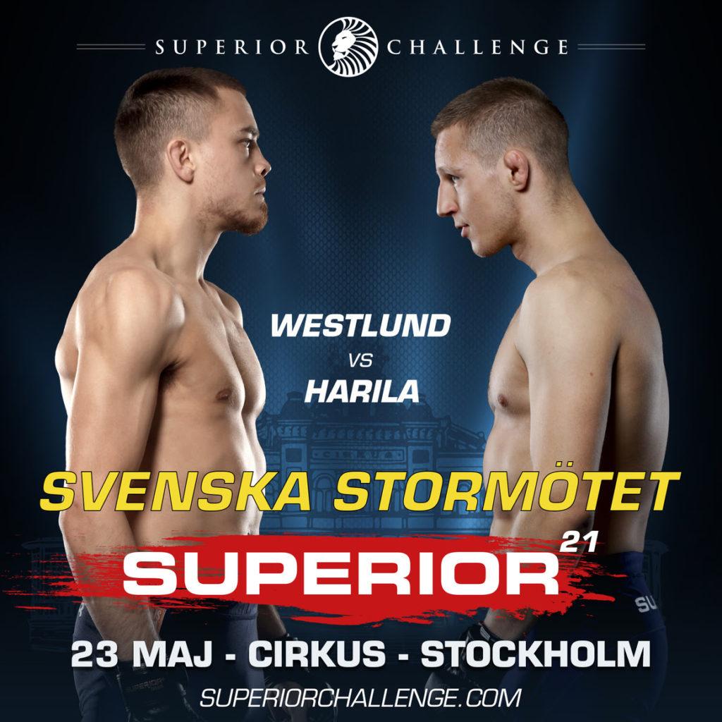 Adam Westlund vs Tobias Harila Superior Challenge 21