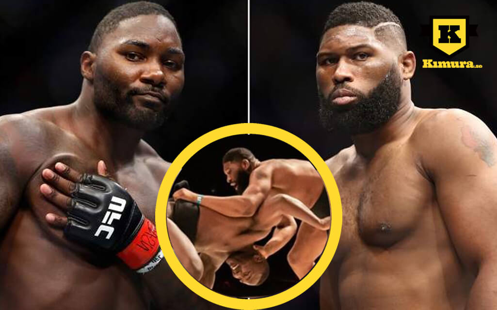 Anthony Johnson vs Curtis Blaydes sumo